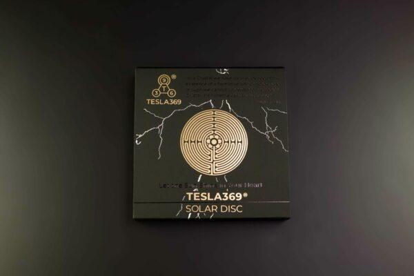 Tesla Solar Disc NEW Back Box