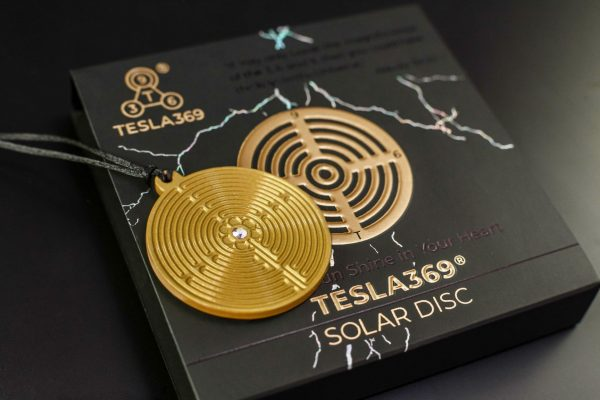 Tesla Solar Disc NEW Back on the Box